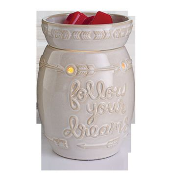 Follow Your Dreams Illumination Fragrance Warmer by Candle Warmers Etc.