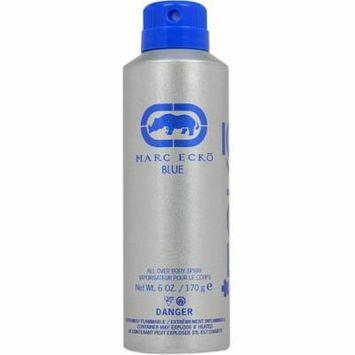 2 Pack - Marc Ecko Blue Body Spray for Men 6 oz