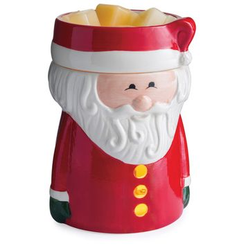 Santa Claus Winter Holiday Illumination Fragrance Warmer by Candle Warmers Etc.