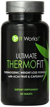 It Works! Ultimate ThermoFit Thermogenic Weight Loss Formula w/ Acai & Capsimax