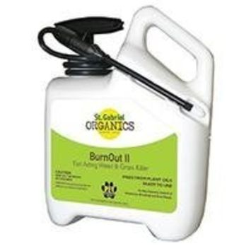 St. Gabriel Laboratories St Gabriel Laboratories Burnout II Fast Acting All Natural Weed & Grass Killer - 128-Ounce Spray 40026-2