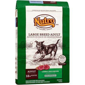 Nutro® Large Breed Adult Lamb & Rice Recipe Dog Food