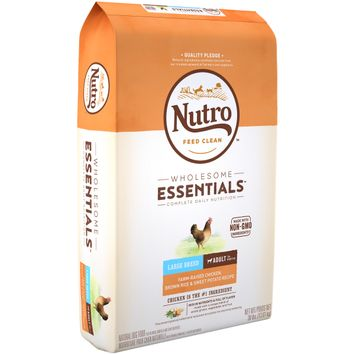 Nutro™ Wholesome Essentials™ Large Breed Adult Farm-raised Chicken, Brown Rice & Sweet Potato Recipe Dog Food