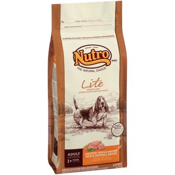 Nutro® Lite Weight Loss Adult Chicken, Whole Brown Rice & Oatmeal Recipe Dog Food