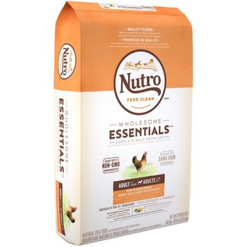 Nutro Feed Clean™ Wholesome Essentials™ Farm-raised Chicken, Brown Rice & Sweet Potato Recipe Adult 1+ Years Dog Food