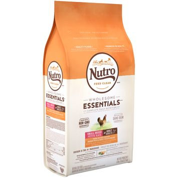 Nutro Feed Clean™ Wholesome Essentials™ Farm-raised Chicken, Brown Rice & Sweet Potato Recipe Small Breed Adult 1+ Years Dog Food
