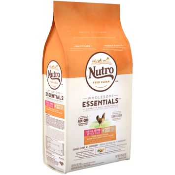 Nutro Feed Clean™ Wholesome Essentials™ Farm-raised Chicken, Brown Rice & Sweet Potato Recipe Small Breed Puppy Dog Food