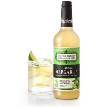 Powell & Mahoney Margarita Cocktail Mixer, 25.36 OZ (Pack of 6)