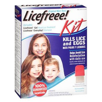 Licefreee! Gel And Shampoo Head Lice Treatment Kit - 1 ea