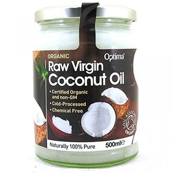 Organic Raw Virgin Coconut Oil 500ml by Optima