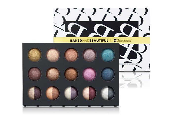 BH Cosmetics Baked and Beautiful - 20 Color Baked Eyeshadow Palette