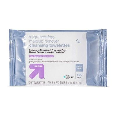 Up & Up Unscented Facial Wipes - 25ct - Up&Up