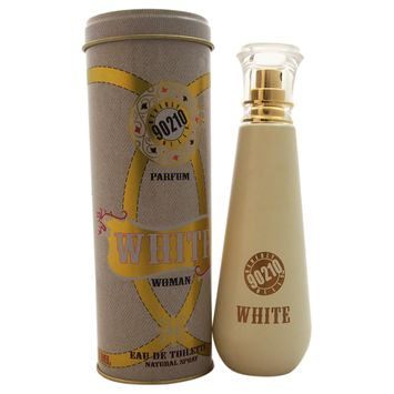Beverly Hills 90210 White Jeans By Giorgio Beverly Hills Edt Spray 3.4 Oz