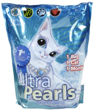Ultra Pet Ultra Pearls Cat Litter, 5-pound Pouch