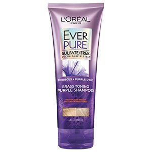 L'Oreal Paris Everpure Brass Toning Purple Sulfate Free Shampoo