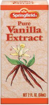 Springfield Pure Vanilla Extract