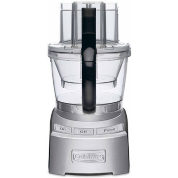 Cuisinart Elite Collection 12-Cup Food Processor, Brushed Chrome