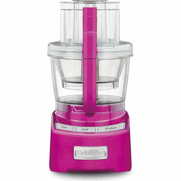 Cuisinart Elite Collection 12-Cup Food Processor, Pink