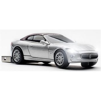 Totally Tablet CCS660363 Maserati Grancabrio Silver Touring 4GB USB 2.0 Stick