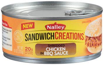 Nalley® Sandwich Creations™ Shredded Chicken in BBQ Sauce