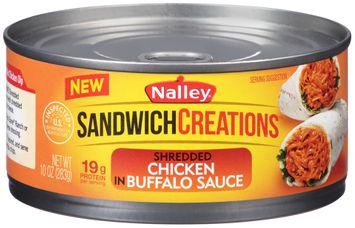 Nally® Sandwich Creations™ Shredded Chicken in Buffalo Sauce