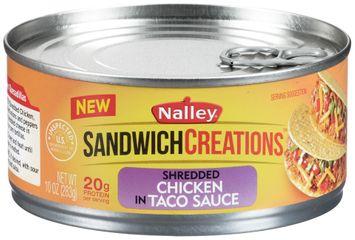 Nalley® Sandwich Creations™ Shredded Chicken in Taco Sauce