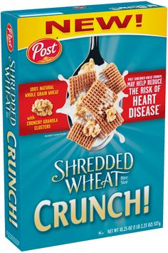 Post® Bite Size Shredded Wheat Crunch! Cereal