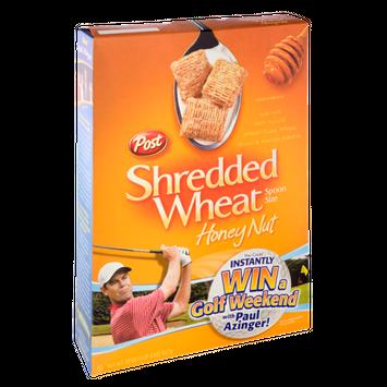 Post Shredded Wheat  Honey Nut Cereal
