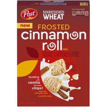 Post Consumer Brands, Llc Post Shredded Wheat Frosted Cinnamon Rolls 15.5oz