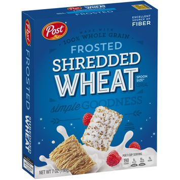 Post® Frosted Shredded Wheat Cereal