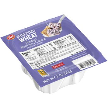 Post® Shredded Wheat Frosted Blueberry Cereal®