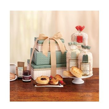English Muffin Gift Tower