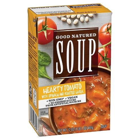 Progresso™ Good Natured Soup Hearty Tomato with Spinach & Roasted Garlic Soup