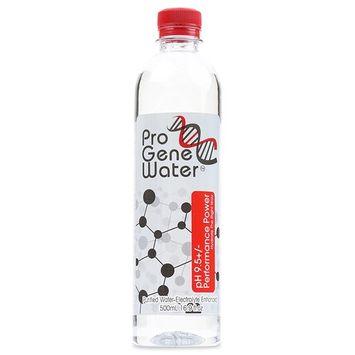 Premium Alkaline Pro Gene Water 9.5 pH +/-, Healthy, Electrolyte Enhanced 16.9oz Water Bottle, Promote Hydration & Better Health, Refreshing Taste - 24 Count Case (500ml)