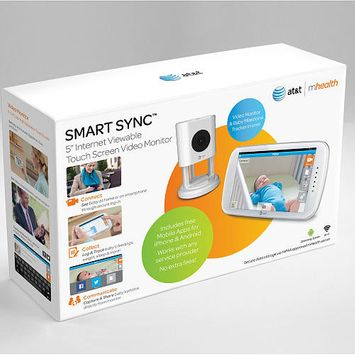 AT&T Smart Sync 5 Inch Internet Viewable Touch Screen Video Monitor