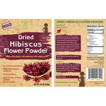 Iya Foods Llc Dried Hibiscus Powder - 8 OZ