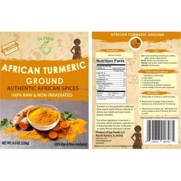 Iya Foods Llc African Turmeric â 8OZ