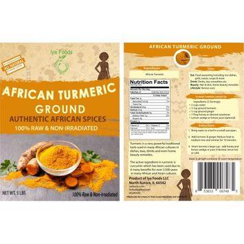 Iya Foods Llc African Turmeric â 5 LBS