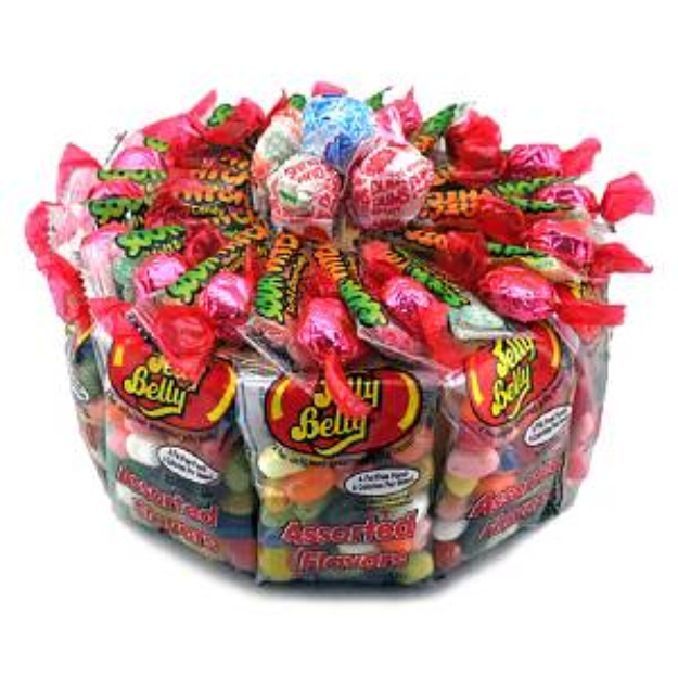 Sweets in Bloom Jelly Belly Cake
