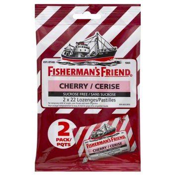 Fisherman's Friend Sugar Free Cherry Lozenges 40Ct