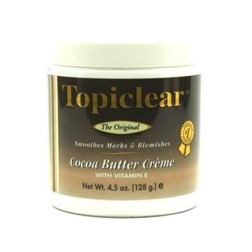 Topiclear Cocoa Butter Creme 4.5 oz. Jar