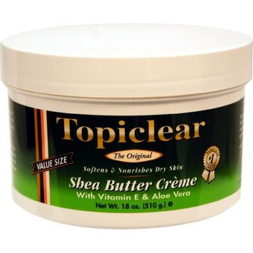 Topiclear Shea Butter Creme with Vitamin E & Aloe Vera 18 oz
