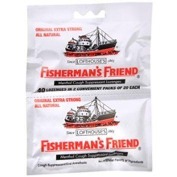 Fisherman's Friend Extra Strong Menthol Cough Suppressant Lozenges Original
