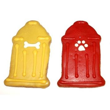 Pawsitively Gourmet Fire Hydrant Cookies For Dogs