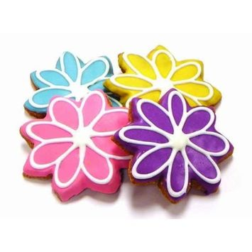 Pawsitively Gourmet Colorful Blooms Cookies For Dogs