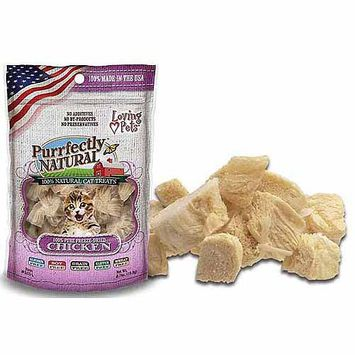 Loving Pets Purrfectly Natural Freeze Dried Chicken .6oz