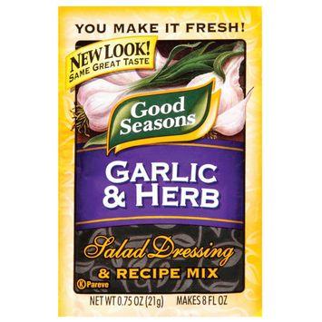 Good Seasons Garlic & Herb Salad Dressing & Recipe Mix .75 oz
