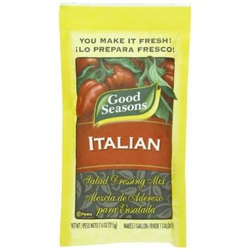 Good Seasons Italian Dressing Mix Large Restaurant Pack 7.6 Ounces (Pack of 3)