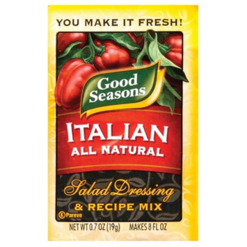 Good Seasons Italian Dressing and Recipe Mix .7 oz
