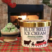Blue Bell's New Holiday Ice Cream is Here